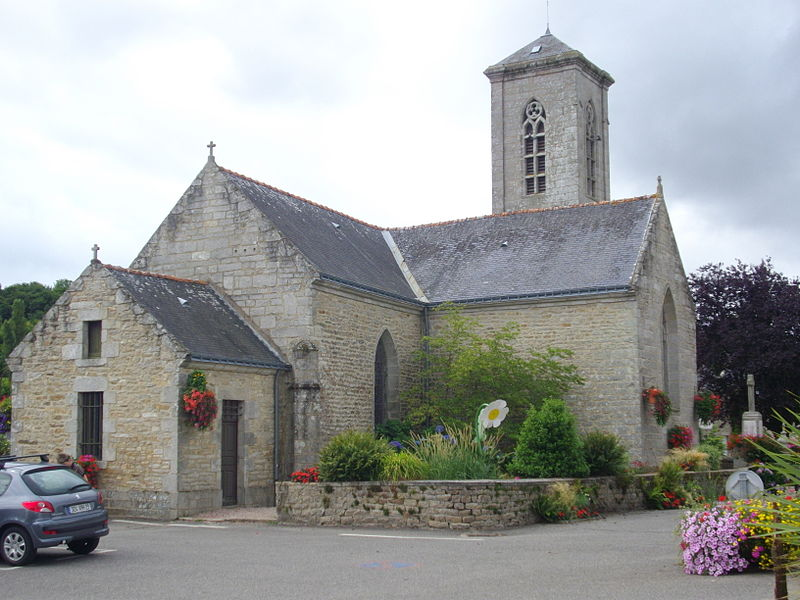 Saint Isidore church of La Vraie-Croix (Morbihan, France)