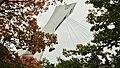La tour du stade olympique se fond dans la nature,Montréal - panoramio.jpg