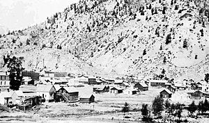 Lake City, Colorado - Image: Lake City c 1880, Crofutt's Gripsack Guide 1884 cropped