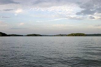 Lake Keowee - Image: Lake Keowee