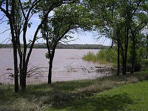 McClellan Creek National Grassland - Lake McClellan