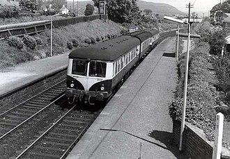 Multiple units of Ireland - Image: Lambeg station (1971) geograph.org.uk 991887