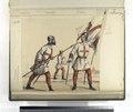Lancero, de la tropas de la Hermandad de Castilla; Atambor, de las tropas de la Hermandad de Castilla; Alferez, de las tropas de la Hermandad de Castilla. ((Año) 1480) (NYPL b14896507-87414).tiff