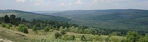 Strășeni District - Landscape of Codri in district