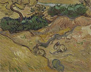 Landscape with Rabbits