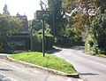Lane junction at Offton village sign - geograph.org.uk - 968585.jpg