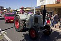 Lanz Bulldog tractor in the SunRice Festival parade in Pine Ave.jpg