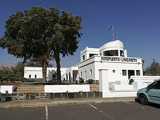 Lanzarote Airport - The first passenger terminal (1946-1970). Now Aeronautical Museum.