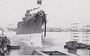 USS Dayton Launching