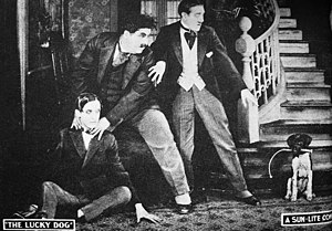 Laurel and Hardy - Laurel and Hardy in The Lucky Dog (1921)