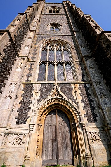 St Peter and St Paul's Church, Lavenham - Wikiwand