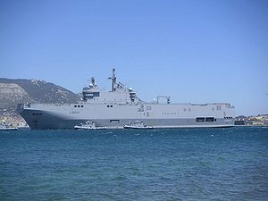 Mistral-class amphibious assault ship - Tonnerre
