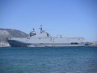 Mistral-class amphibious assault ship - Tonnerre