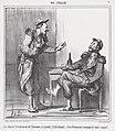 Le vin est l'ornament de l'homme...., from En Italie, published in Le Charivari, August 9, 1859 MET DP876783.jpg