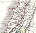 Lebanon. 1852 Philip Map of Palestine - Israel - Holy Land - Geographicus - Palestine-philip-1852.jpg