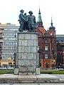 Legnica, plac Słowiański, pomnik Wdzięczności dla Armii Czerwonej Związku Radzieckiego (3).jpg