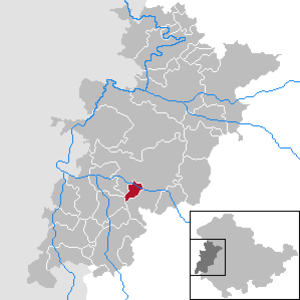 Leimbach, Thuringia - Image: Leimbach in WAK