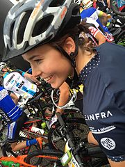 Lena Putz Mountainbikerennen