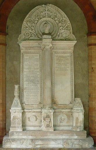 Alter Südfriedhof - Leo von Klenze's grave