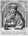 Leonard Fuchs. Line engraving by T. de Bry, 1645. Wellcome M0009168.jpg