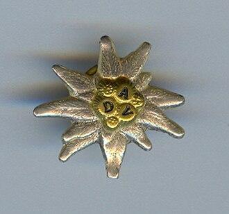 German Alpine Club - DAV Edelweiss badge