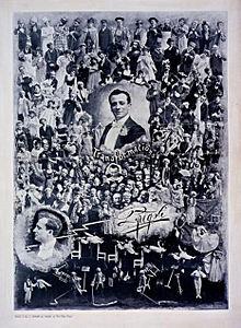 Locandina di Fregoli del 1900
