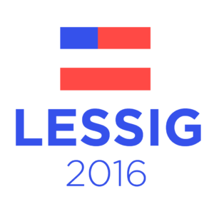 Lawrence Lessig presidential campaign, 2016 - Image: Lessig 2016