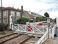 Level crossing on Station Road - geograph.org.uk - 1407986.jpg