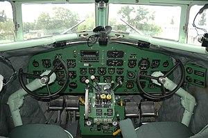 Lisunov Li-2 - Li-2 HA-LIX Cockpit, 2008