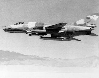 Armed Forces of the Libyan Arab Jamahiriya - Libyan Su-22 fighter-bomber, 1985