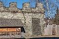 Liebenfels Hoch-Liebenfels Burgruine Zinnenmauer Teilansicht 29122016 5937.jpg