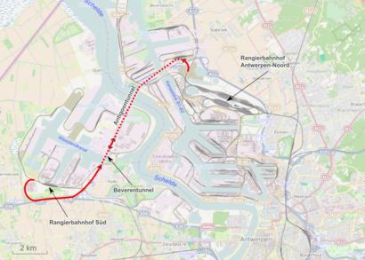 Hoe gaan naar Beverentunnel met het openbaar vervoer - Over de plek