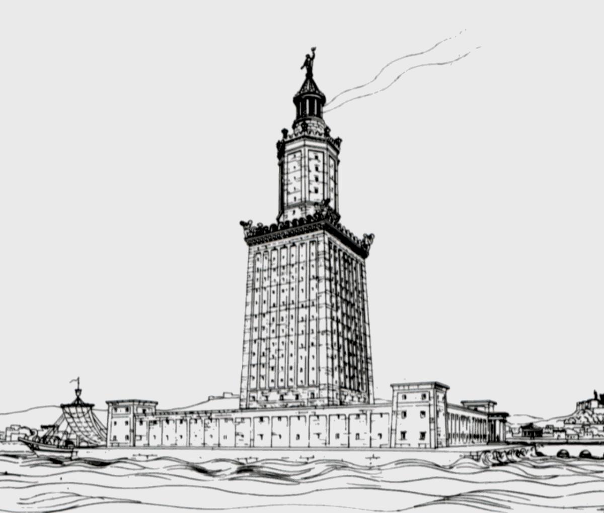 Faro de Alejandría - Wikipedia, la enciclopedia libre
