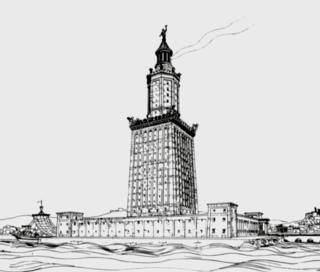 Lighthouse of Alexandria lighthouse in Egypt, built in the 3rd century BC and destroyed in the Middle Ages