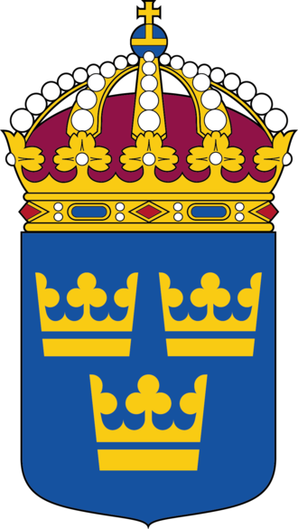 Three Crowns - The lesser arms of Sweden