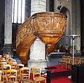 Lille Eglise Saint Maurice chaire de prêche (WLM2018).jpg