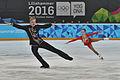 Lillehammer 2016 - Figure Skating Pairs Short Program - Ekaterina Borisova and Dmitry Sopot 3.jpg