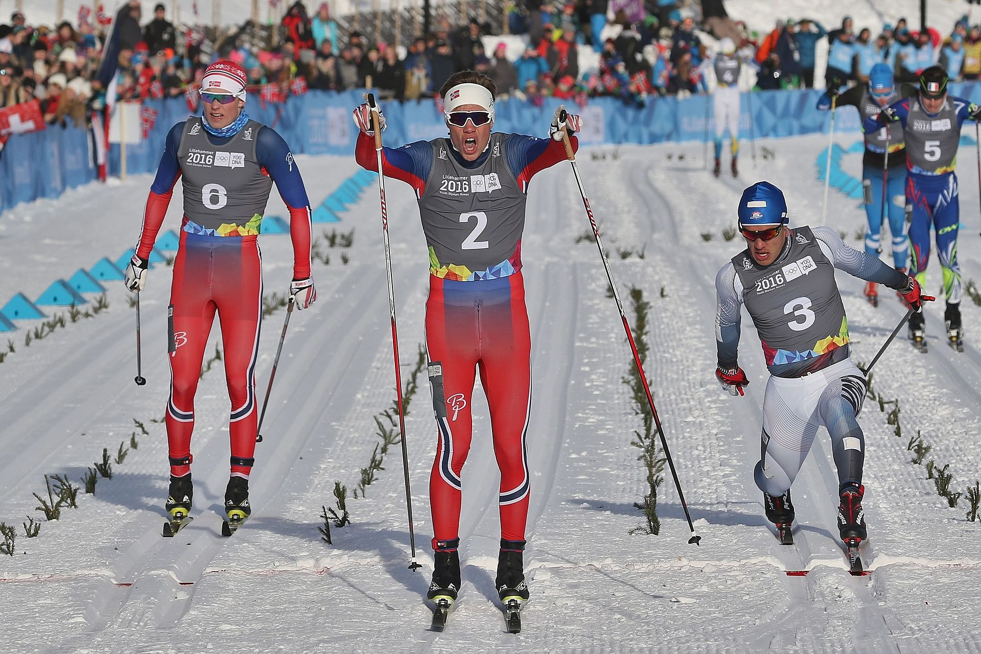 Olympic cross country ski