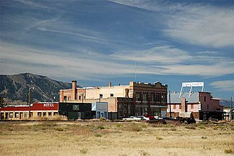Lima, Montana - The historic business district of Lima, Montana, Summer 2010.