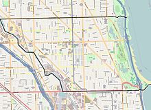 Lincoln Park Street Map