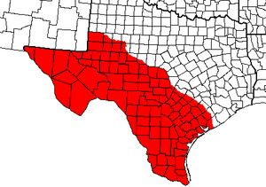Texas divisionism - State of Lincoln proposed in 1869 in Texas, south and west of the Colorado River.