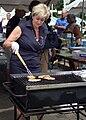 Linda McMahon Grilling -- Sgt. R.K. Blue.jpg