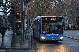 Line 34 Madrid city buse EMT.jpg
