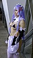 Linyue as Rem, Re-Zero at PF32 20200704d.jpg