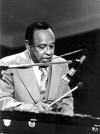 English: Lionel Hampton during a concert in Aa...