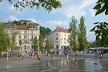 Ljubljana Pre%C5%A1eren Square