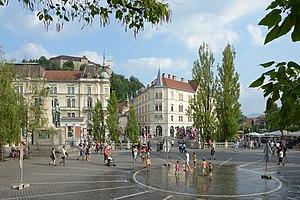 Ljubljana: Ljubljana Prešeren Square