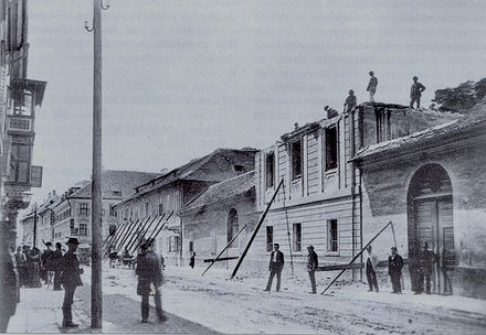 The 1895 earthquake destroyed much of the city centre, enabling an extensive renovation program.