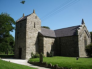 Llanrhian - Image: Llanharian church