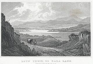 Llyn Tegid, or, Bala Lake, Merionethshire